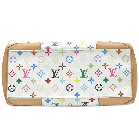 Louis Vuitton(루이비통) M40193 모노그램 멀티 컬러 화이트 클라우디아 숄더백