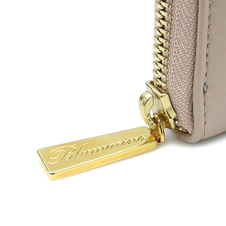 Blumarine(블루마린) 금장 로고 장식 인디핑크 래더 집업 중지갑 [강남본점] 이미지4 - 고이비토 중고명품