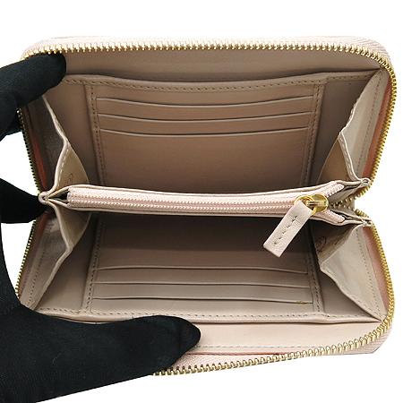 Blumarine(블루마린) 금장 로고 장식 인디핑크 래더 집업 중지갑 [강남본점] 이미지5 - 고이비토 중고명품