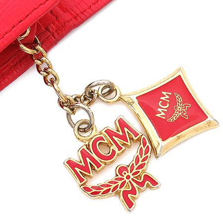 MCM(엠씨엠) 1032074030512 참 장식 플레이트 반지갑