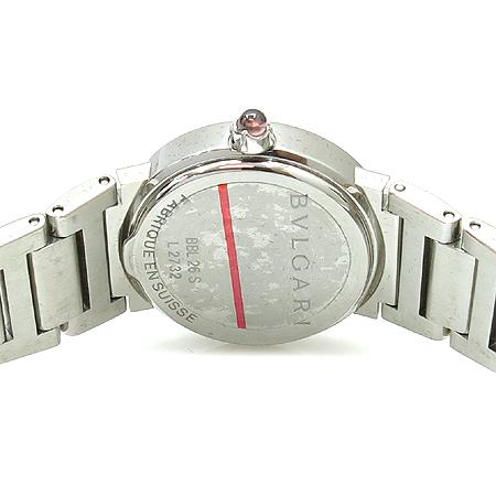 Bvlgari(불가리) BBL26S 신형 12포인트 다이아 자개판 스틸 여성용 시계 이미지4 - 고이비토 중고명품