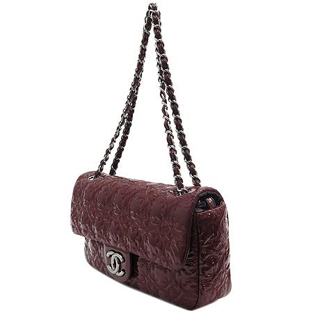 Chanel(샤넬)  페이던트 원플랩 아이콘 은장 체인 숄더백