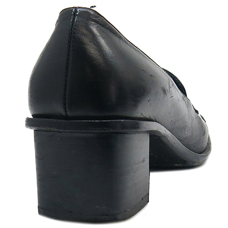 Bally(발리) 블랙 레더 여성 구두