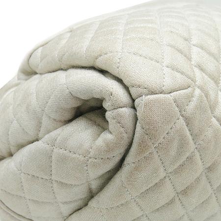 Chanel(샤넬) COCO로고 메탈릭 패브릭 은장체인 숄더백 [대구반월당본점] 이미지4 - 고이비토 중고명품