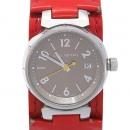 Louis Vuitton(루이비통) Q12127 땅부르 S 쿼츠 베르니 밴드 여성용 시계 [강남본점]