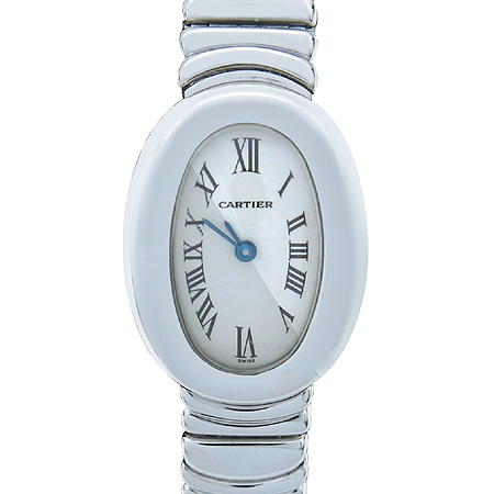 Cartier(까르띠에) W15189L2 18K(750) 화이트골드 BAIGNOIRE(베누아) 금통 여성용 시계 [강남본점]