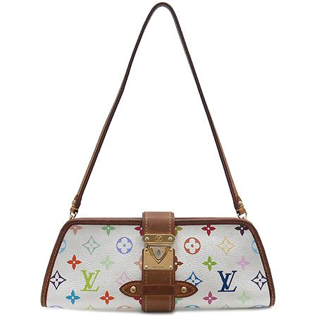 Louis Vuitton(루이비통) M40049 모노그램 멀티 컬러 화이트 셜리 클러치 겸 숄더백