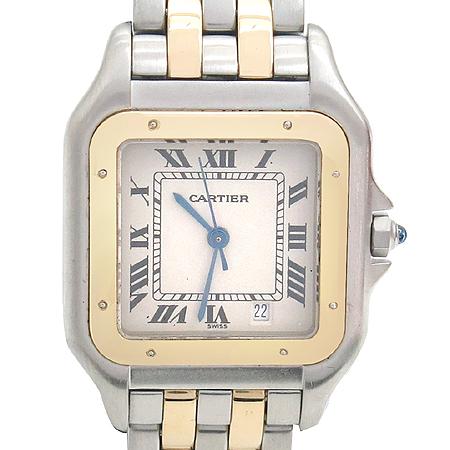 Cartier(까르띠에) 18K 두줄콤비 팬더 M사이즈 남성용 시계