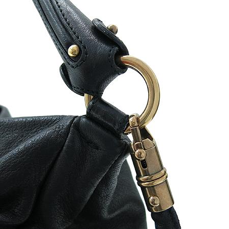 Ferragamo(페라가모) 21 B617 금장 로고 장식 블랙 래더 2WAY 이미지4 - 고이비토 중고명품