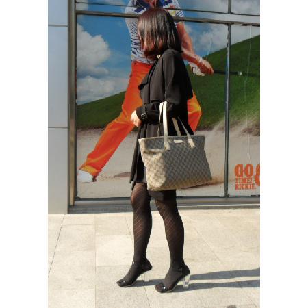 Gucci(구찌) 211137 GG로고 PVC 레더 쇼퍼 숄더백 [일산매장]