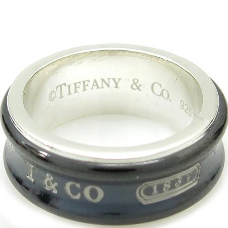 Tiffany(티파니) 925(실버)+티타늄 1837 반지 -13호 이미지2 - 고이비토 중고명품