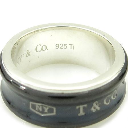 Tiffany(티파니) 925(실버)+티타늄 1837 반지 -13호 이미지3 - 고이비토 중고명품