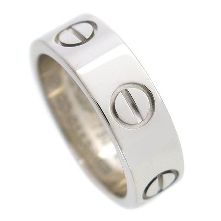 Cartier(까르띠에) B40844747 18K(750) 화이트 골드 러브링 반지-7호 [동대문점]