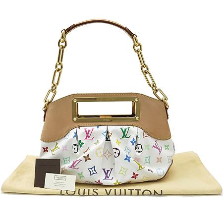 Louis Vuitton(루이비통) M40257 모노그램 멀티 화이트 주디PM 2WAY [대구황금점] 이미지2 - 고이비토 중고명품