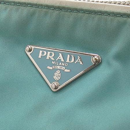 Prada(프라다) 삼각 로고 장식 패브릭 숄더백