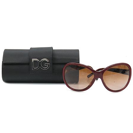 D&G(돌체&가바나) DG4048 측면 금장 로고 뿔테 선글라스
