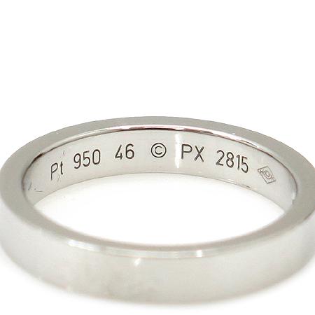 Cartier(까르띠에) B40513 PT950 (플래티늄) 1포인트 다이아 웨딩 반지- 6호 [명동매장]