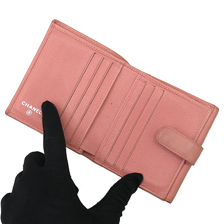 Chanel(샤넬) A46507 Y01669 까멜리아 버터 플라이 반지갑