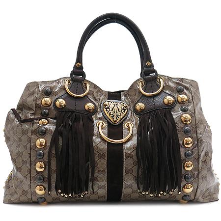 Gucci(����) 207301 GG �ΰ� PVC ����� ���� ���͵� ��Ʈ��