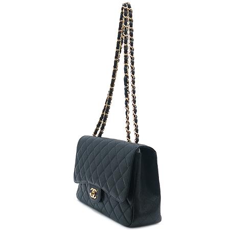 Chanel(샤넬) 캐비어 스킨 점보 사이즈 클래식 금장 체인 숄더백 [잠실점] 이미지3 - 고이비토 중고명품