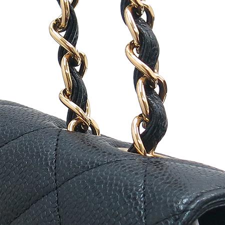 Chanel(샤넬) 캐비어 스킨 점보 사이즈 클래식 금장 체인 숄더백 [잠실점]