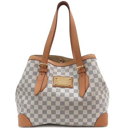 Louis Vuitton(루이비통) N51206 다미에 아주르 캔버스 햄스테드 MM 숄더백
