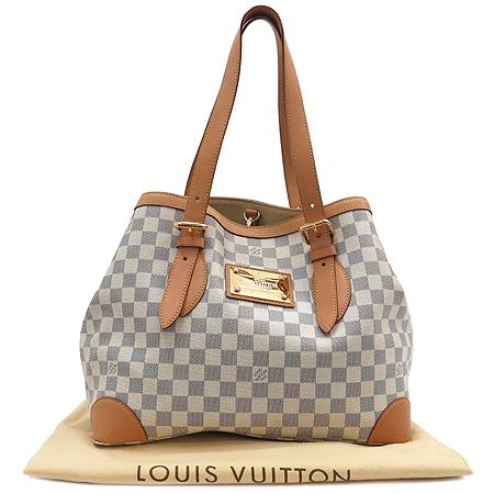 Louis Vuitton(루이비통) N51206 다미에 아주르 캔버스 햄스테드 MM 숄더백 이미지2 - 고이비토 중고명품