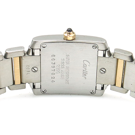 Cartier(까르띠에) W51007Q4 탱크 18K 콤비 S사이즈 쿼츠 여성용 시계