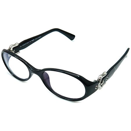 Fendi(펜디) F869K 측면 은장 로고 블랙 안경테