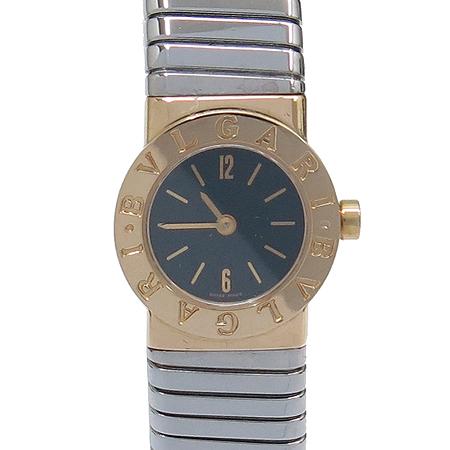 Bvlgari(불가리) BB19 2TS 투보가스 스틸밴드 콤비 여성용 시계