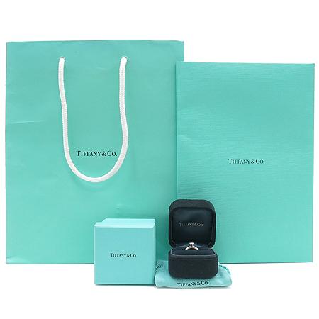 Tiffany(티파니) PT950 (플래티늄) 1포인트 다이아 (0.21 캐럿) VVS1 / G 컬러 웨딩 반지
