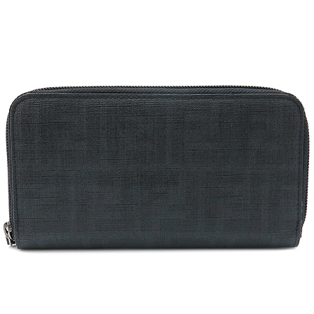 Fendi(펜디) 8M0024 PVC 로고 장식 집업 장지갑