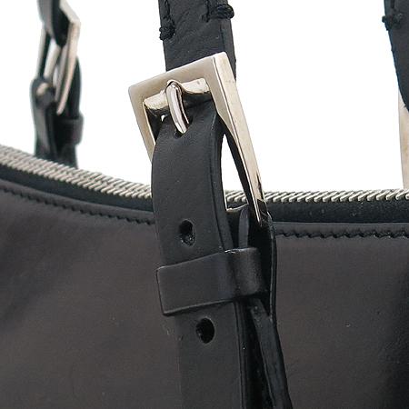 Dior(크리스챤디올) 블랙 래더 스타 체인 장식 토트백