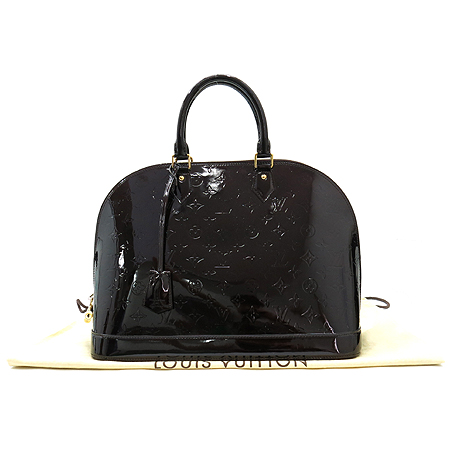 Louis Vuitton(루이비통) M93595 모노그램 베르니 아마랑뜨 알마 GM 토트백