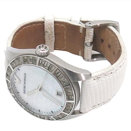 Armani(아르마니) AR0529 베젤 큐빅 자개판 여성용 시계 이미지2 - 고이비토 중고명품
