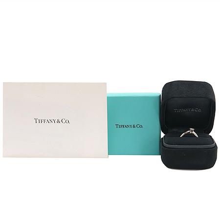 Tiffany(티파니) PT950 플래티늄골드 0.16캐럿 다이아 웨딩반지 - 6호 [동대문점]