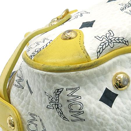 MCM(엠씨엠) 1011055060022 금장 체인 로고 장식 비세토스 토트백 이미지5 - 고이비토 중고명품