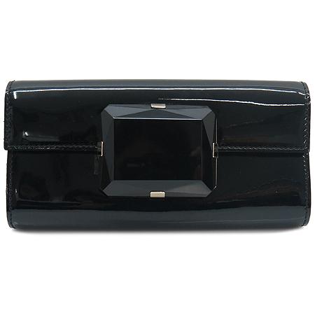 Gucci(구찌) 197027 블랙 페이던트 버클 장식 클러치