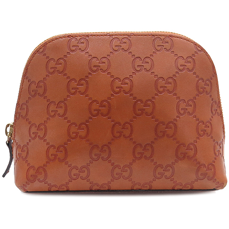 Gucci(구찌) 141810 GG 로고 시마 레더 파우치