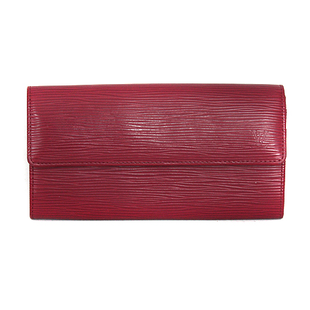 Louis Vuitton(루이비통) M60317 에삐 레더 푸시아 사라 월릿 장지갑 [명동매장]