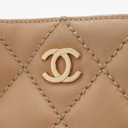 Chanel(샤넬) 금장 COCO로고 와일드 스티치 토트백