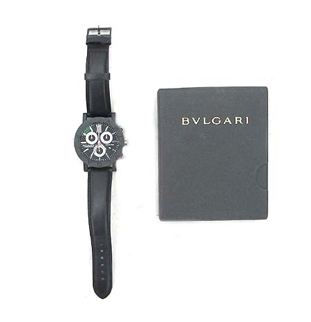 Bvlgari(�Ұ���) BB38CLCH CARBONGOLD 125�ֳ� Special Edition ũ�γ� �׷��� ���� ��� ������ �ð� [�д����]