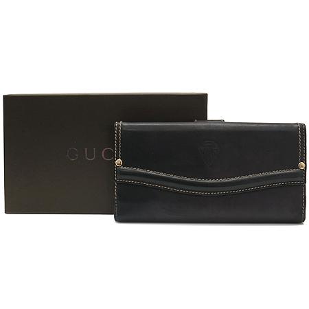 Gucci(구찌) 141401 블랙 래더 장지갑