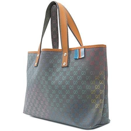 Gucci(구찌) 211134 GG 로고 PVC 쇼퍼 토트백