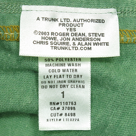 TRUNK ltd(Ʈ��ũ ����Ƽ��) ����Ƽ(MADE IN U.S.A)