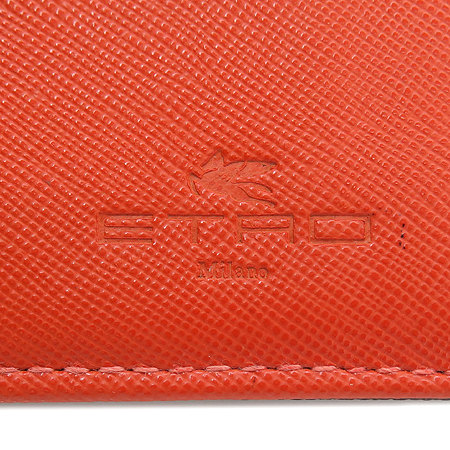 Etro(에트로) 18267 금장 페가수스 로고 장식 페이즐리 장지갑