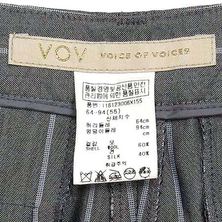 VOV(보브) 실크혼방 바지