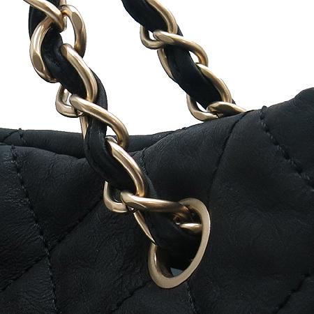 Chanel(샤넬) A48223Y03057 블랙 래더 금장 메탈 체인 숄더백 이미지4 - 고이비토 중고명품