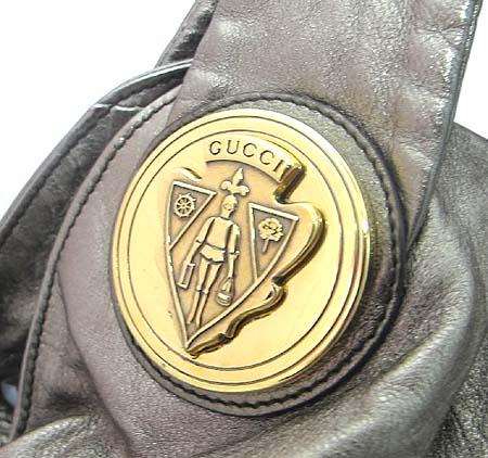 Gucci(구찌) 197016 나파 메탈릭 호보 2WAY