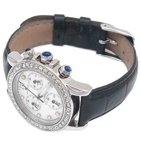 TATEOSSIAN(타테오시안) 베젤 크리스탈 장식 크로노그래프 여성용 시계 [강남본점] 이미지3 - 고이비토 중고명품